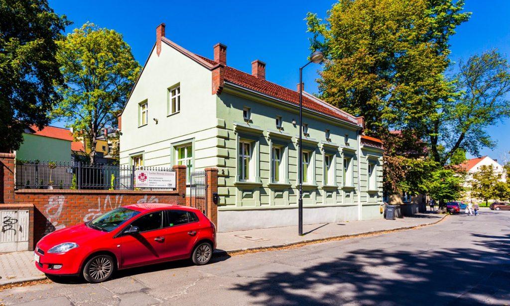 Budynek siedziby Caritas w Gliwicach