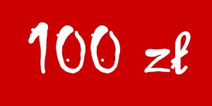 Darowizna 100 zł