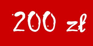 Darowizna 200 zł