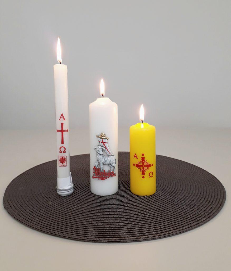 Świece Wielkanocne Caritas