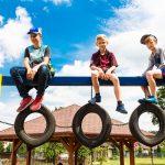Bawiące się dzieci - Turza